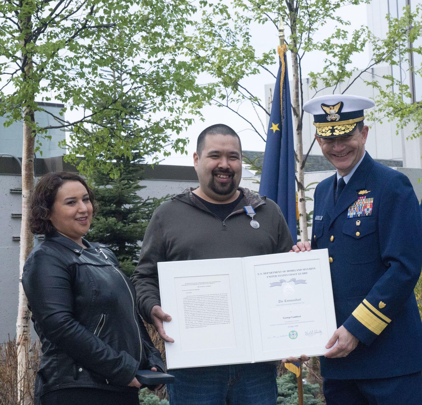 EINMALIGE VERWENDUNG Küstenwache/ Rettung/ Auszeichnung