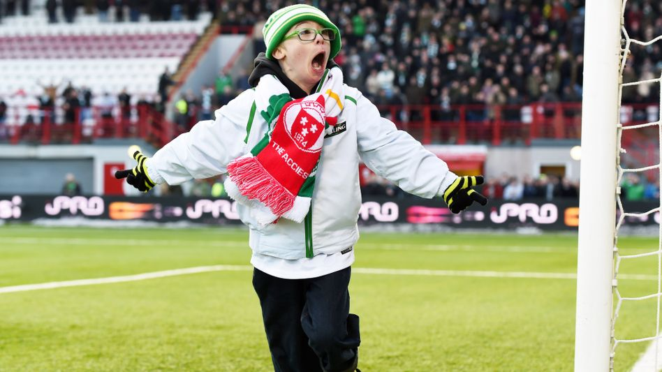 Hobby-Fußballer Beatty: Reichlich Grund zum Jubeln