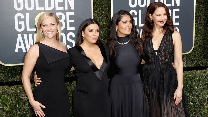 Roter Teppich der Golden Globes: Women in Black