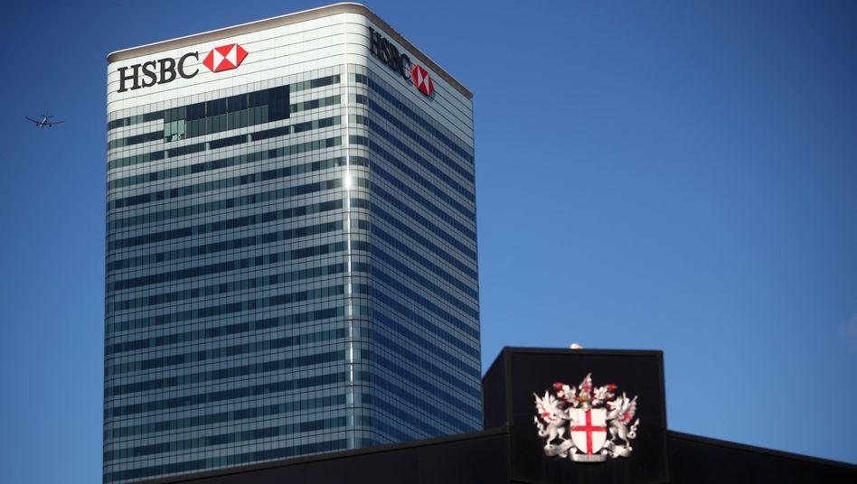 HSBC-Gebäude in London: Wechsel an der Führungsspitze
