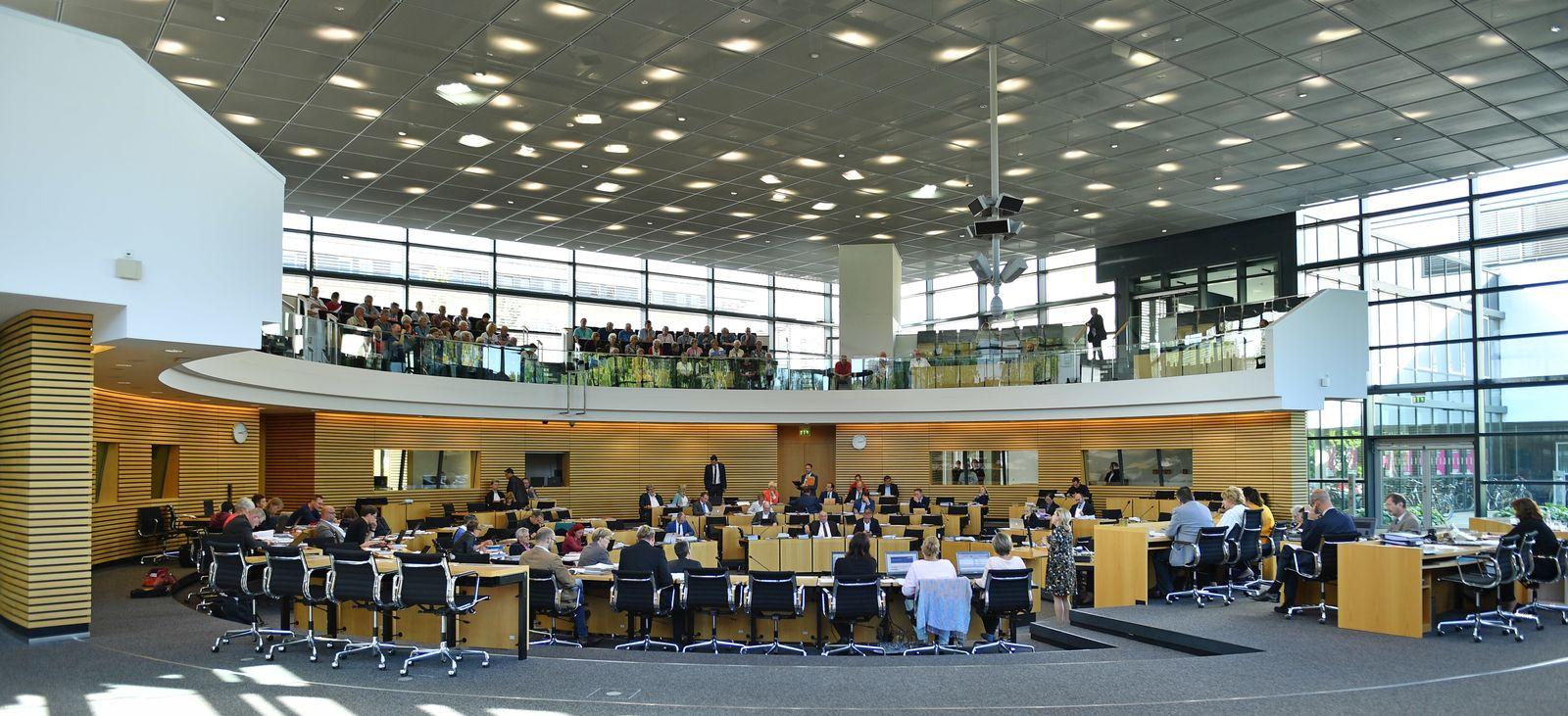 Landtagssitzung Thüringen/ Landtag