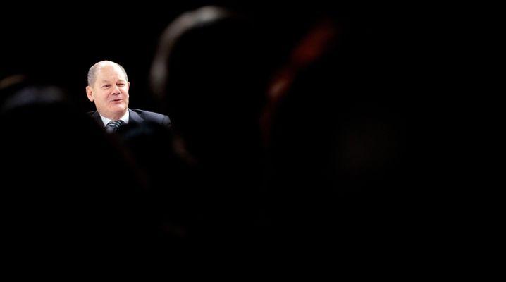Bundesfinanzminister Olaf Scholz will seiner SPD Zeit geben. (Archivbild)