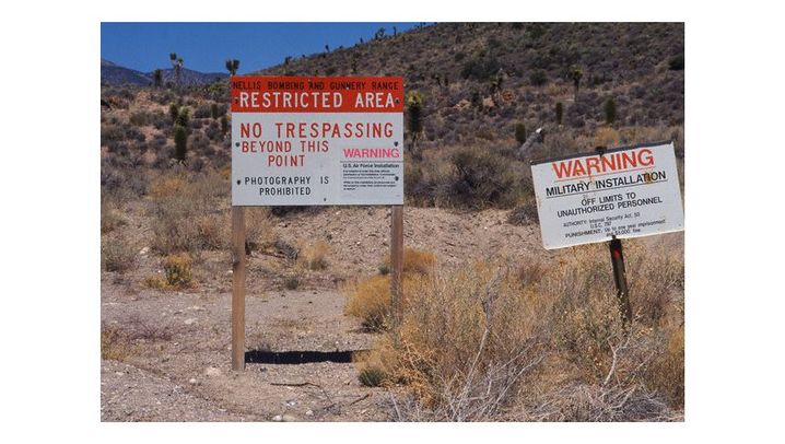 Ein Sperrgebiet in Nevada: Heimat von Aliens und Verschwörungstheoretikern