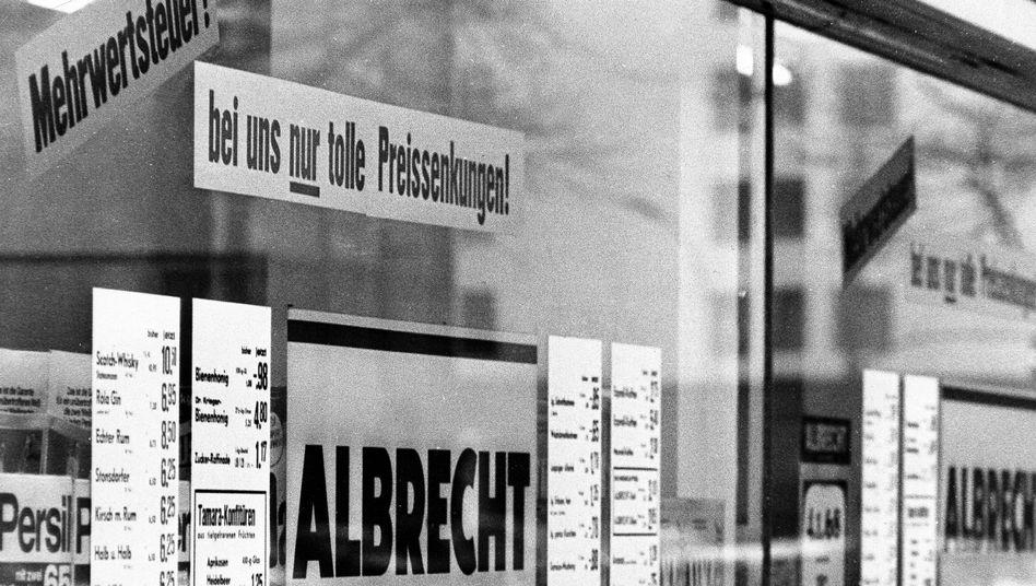 Aldi-Laden 1968: Theos Nordreich lehnte Veränderungen ab