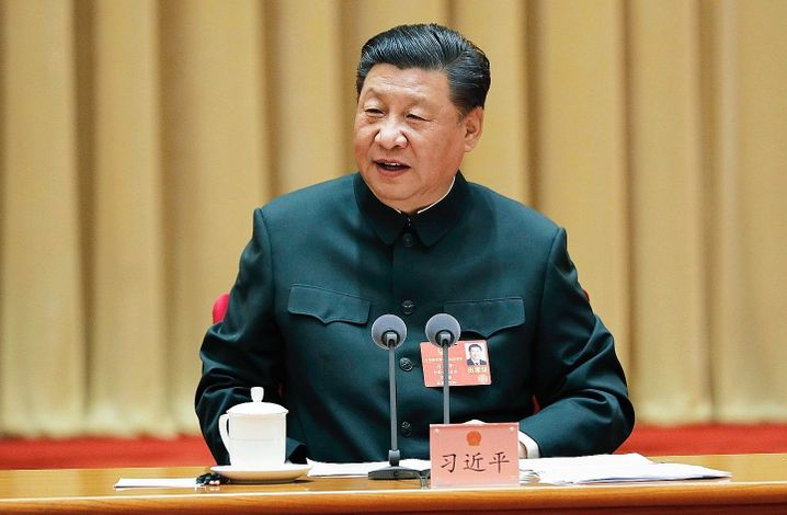 "Communist Party leader Xi Jinping at the party congress in Beijing in May: ""China needs to learn more about the world."""