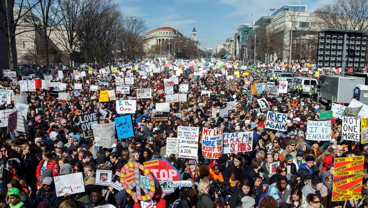 """""""March for our Lives"""": Wütend, traurig, hoffnungsvoll"""