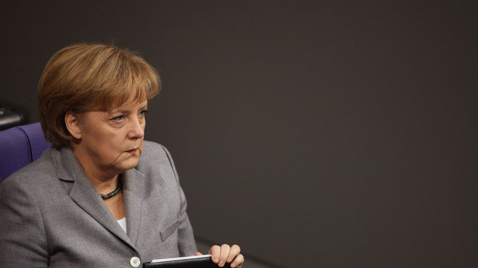 CDU-Chefin und Kanzlerin Merkel: Viele Stammwähler zur Verzweiflung getrieben