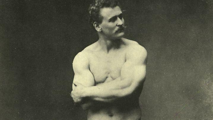 Frühes Bodybuilding: Ein Feigenblatt für die Männlichkeit