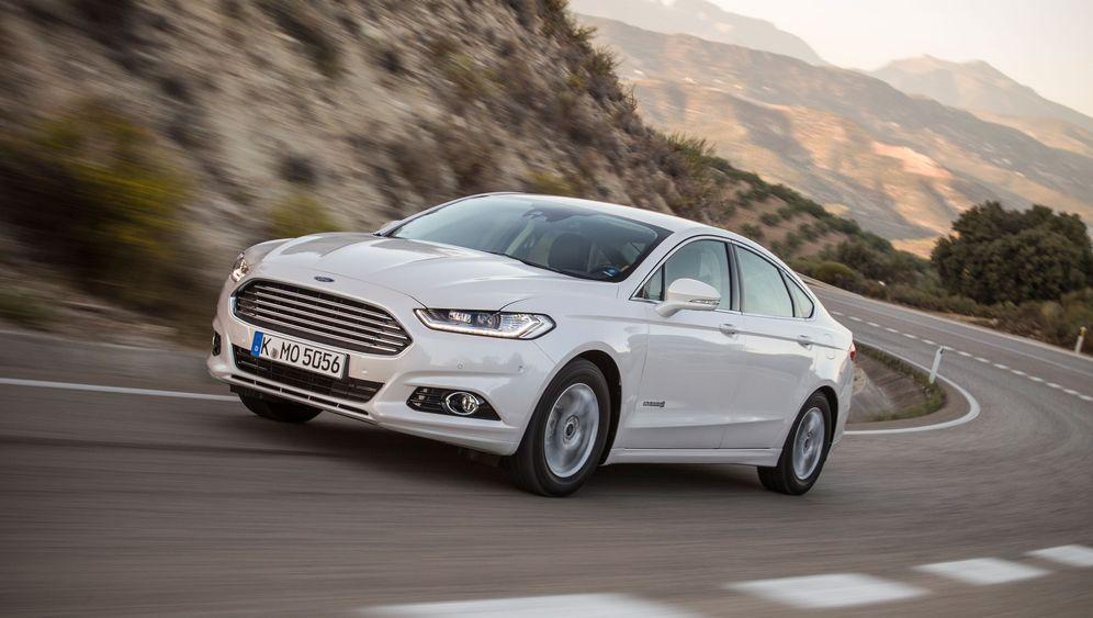 Mittelklassewagen mit alternativem Antrieb: Ford Mondeo Hybrid