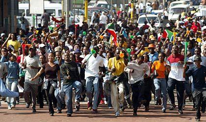 """Begeisterung in Johannesburg: """"Der Gewinner ist Afrika"""""""