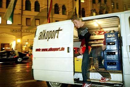 """""""Alkoport""""-Bus: Wenn keiner mehr fahren kann, wird geliefert"""