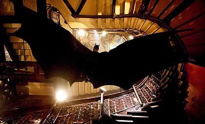 """Szene aus """"Batman Begins"""": Schauwerte, schnelle Schnitte, Spektakel"""