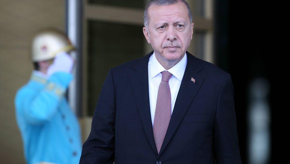 Der türkische Präsident Erdogan: 2016 bekam er von den Europäern Finanzhilfen versprochen, wenn er im Gegenzug Flüchtlinge von Europa fernhält