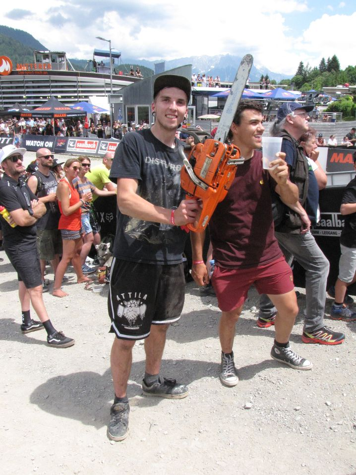 "Downhill-Fans: ""Die Kettensäge hat hier Tradition"""