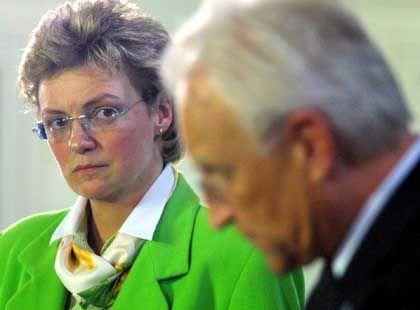 Ministerin Hohlmeier (mit Edmund Stoiber): Klares Nein