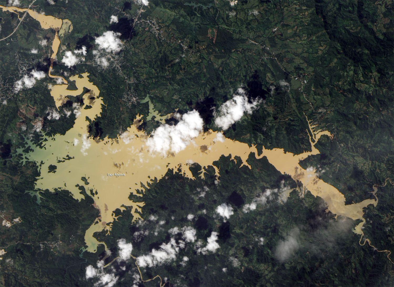 EINMALIGE VERWENDUNG Satellitenbild der Woche / Panama