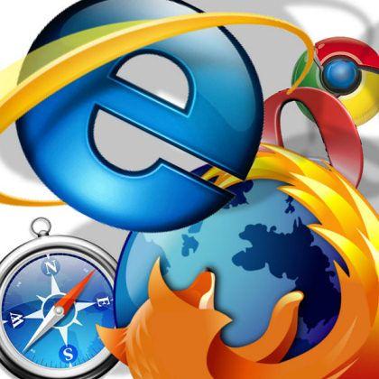 Konkurrierende Browser: Weltweit hat noch der Explorer die Nase vorn, in Europa ist Firefox dabei zu überholen