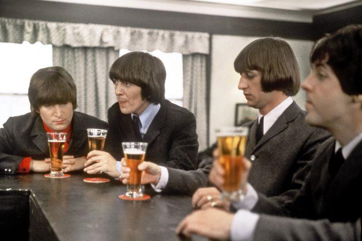 The Beatles im Jahr 1965: Elf Alben der Band landeten in Deutschland auf Chartposition eins