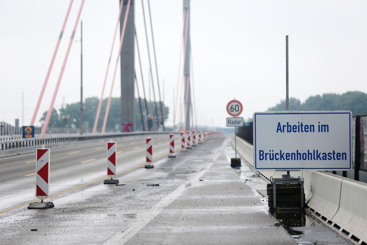 Sanierungsobjekt Leverkusener Brücke (Archivbild)