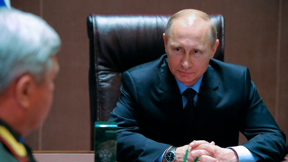 Präsident Putin: Russland fordert Antworten von der EU