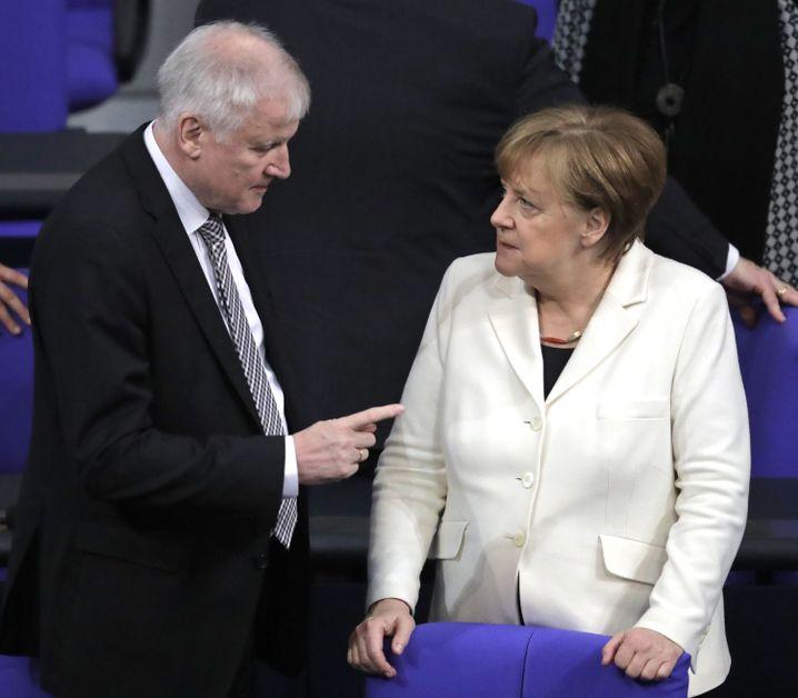 The relationship between Merkel and Seehofer has never been easy.