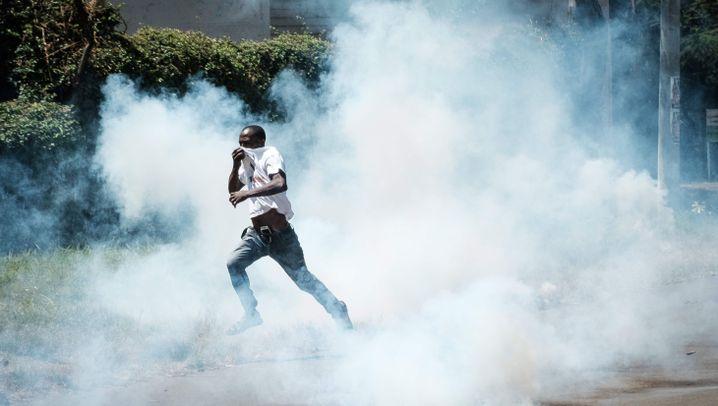 Chaos vor Präsidentschaftswahl: Kenia blickt in den Abgrund