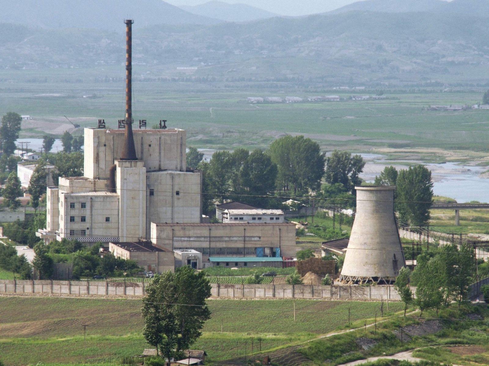 Nordkorea/ Yongbyon/ Nuklearkomplex