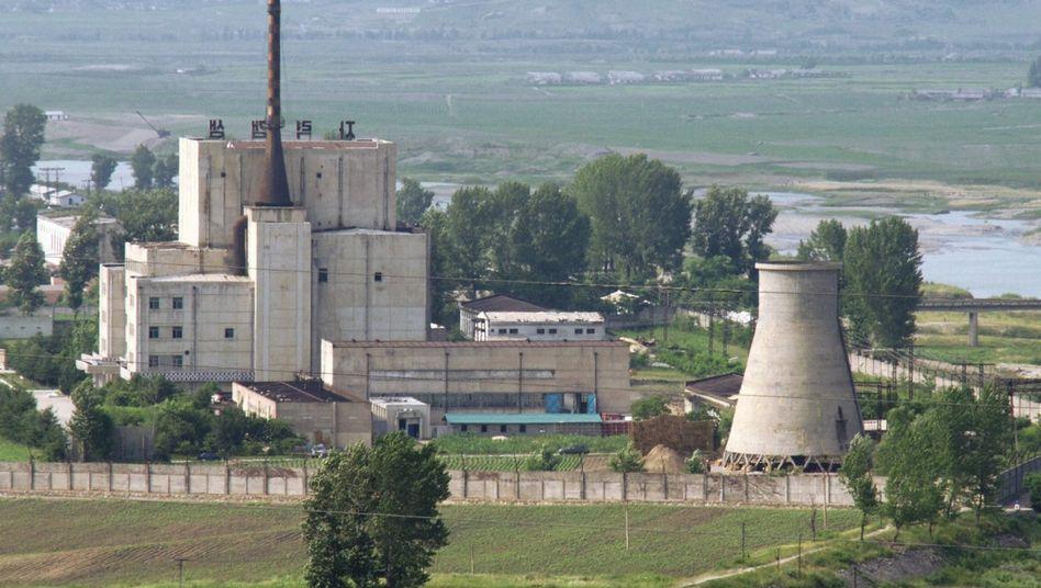 """Anlage im Nuklearkomplex Yongbyon (Archivbild von 2008): """"Qualität ausbauen"""""""