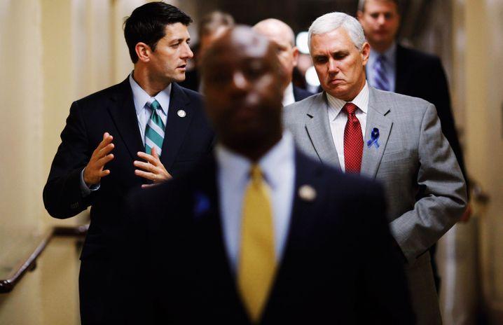 """Haushaltspolitiker Paul Ryan: """"Dieses Gesetz ist weit davon entfernt, perfekt zu sein"""""""