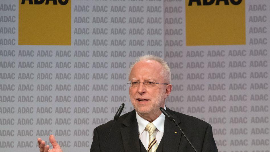 August Markl, Präsident des ADAC
