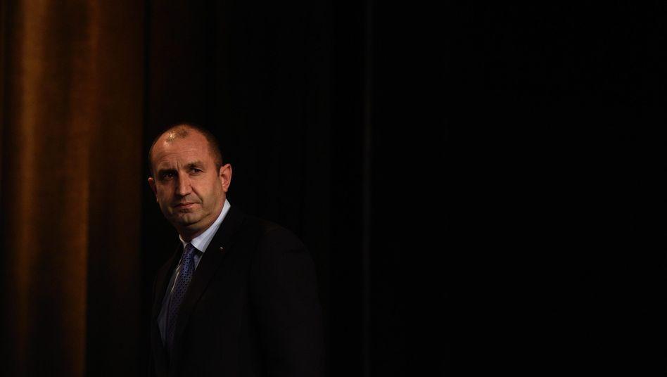 Hatte sein Veto eingelegt: Staatspräsident Rumen Radew