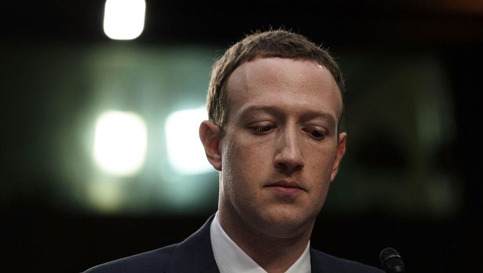 Doch eine Haltung: Facebook-CEO Mark Zuckerberg