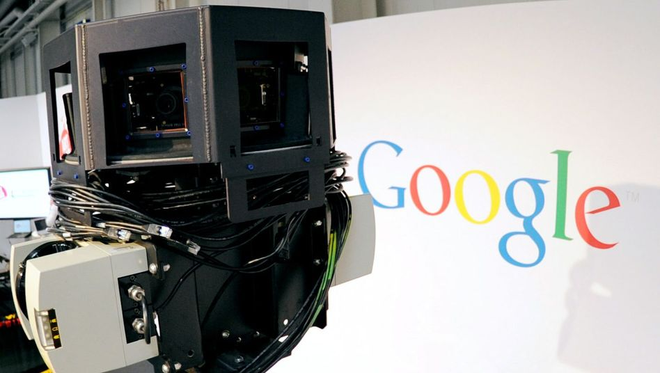 Street-View-Pläne: Datenschützer verlangt von Google Info-Offensive