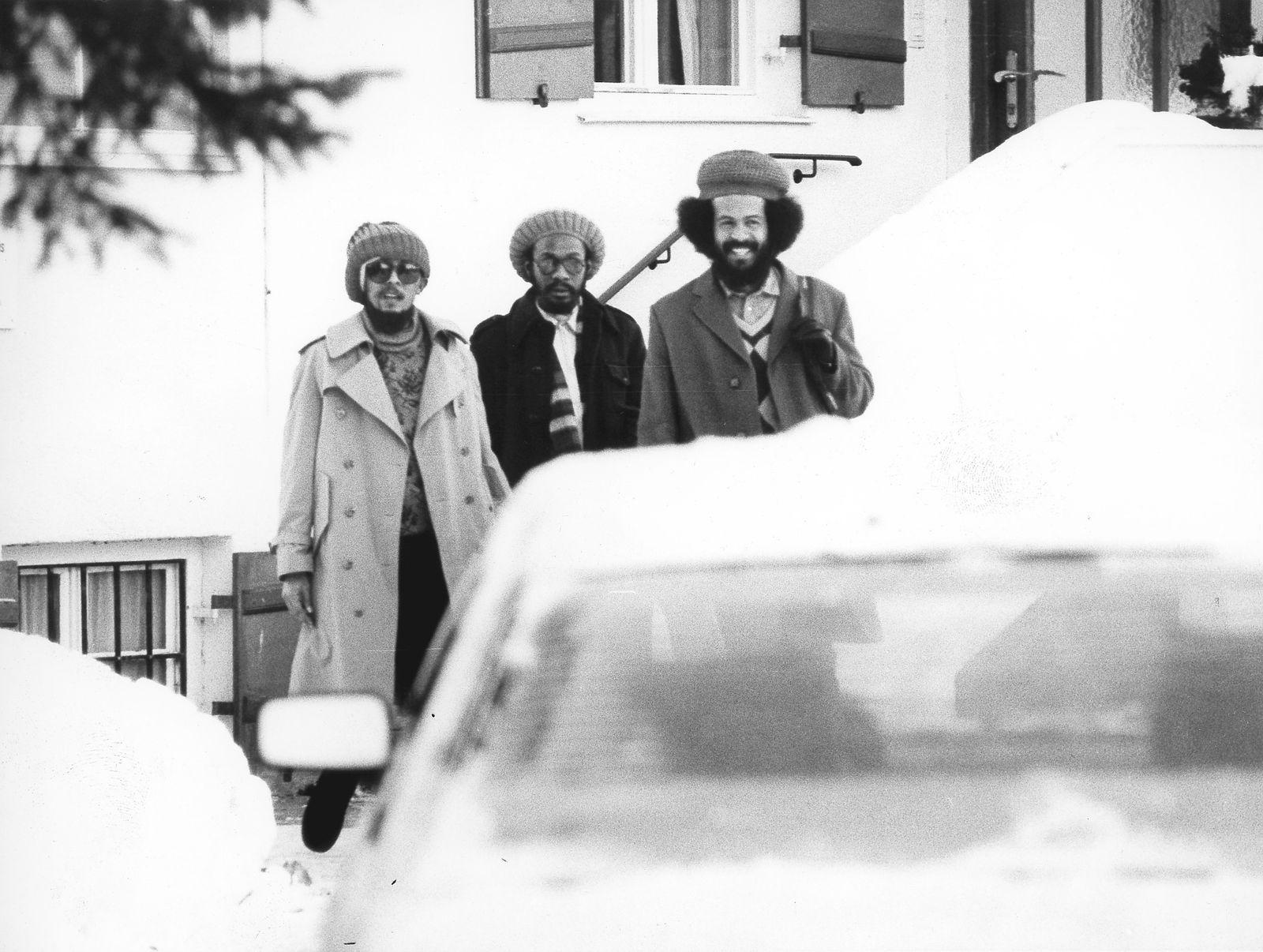 Bob Marley in der Klinik von Dr. Josef Issels am Tegernsee, 1981