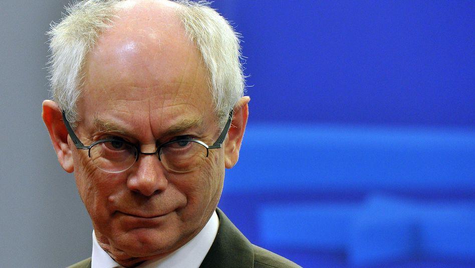 """Politiker Van Rompuy: """"Nationalismus nicht die Antwort"""""""