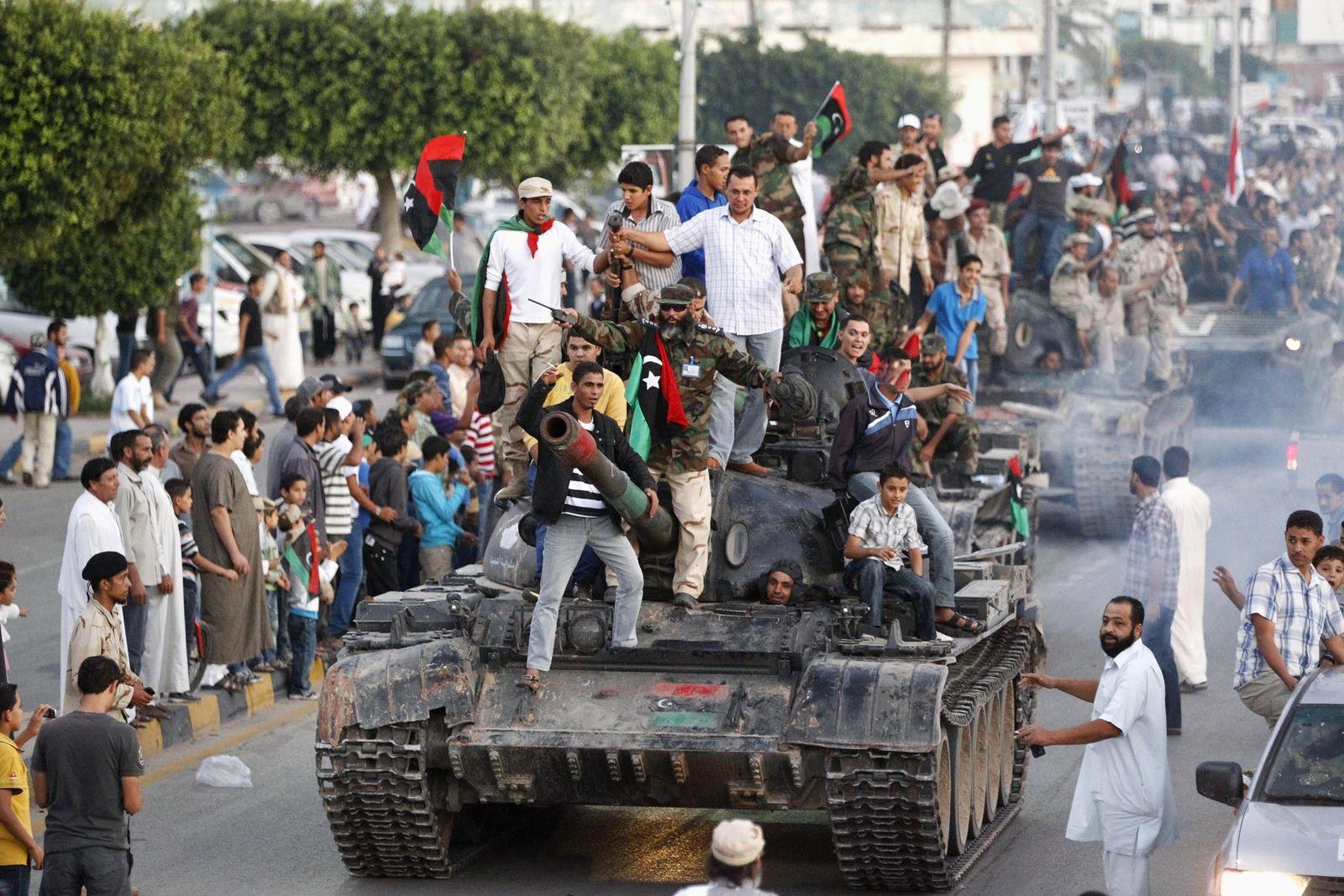 libysche Miliz in misurata