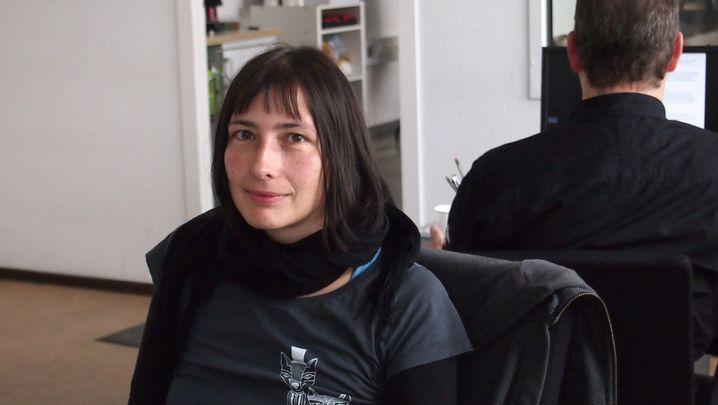 Grit Schuster, 34, musste noch nie ein Bewerbungsgespräch führen