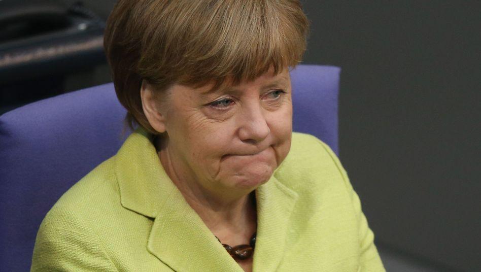 Kanzlerin Merkel im Bundestag: Neues Dokument aufgetaucht