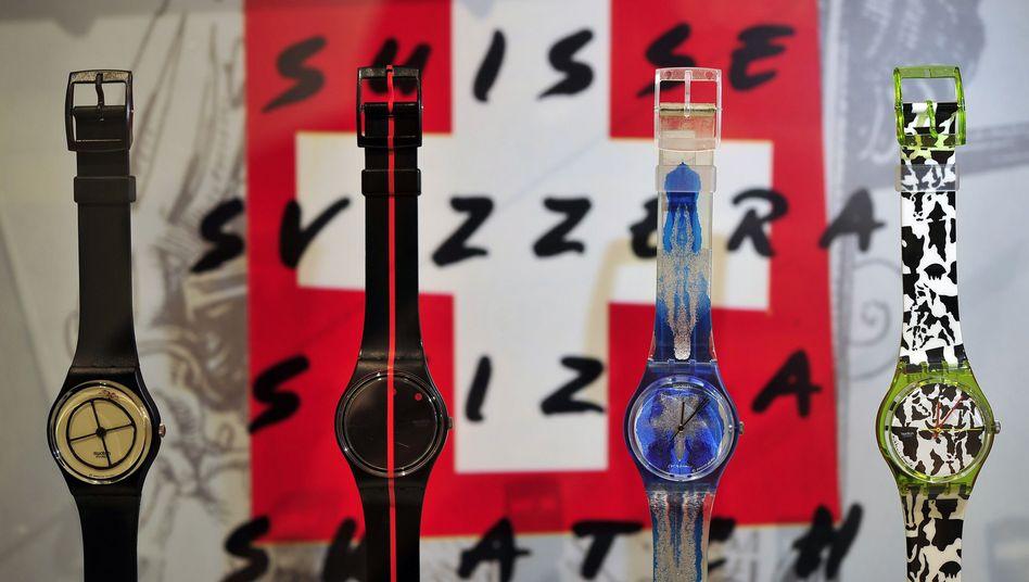Swatch-Uhren: Keine Frauenquote in dem Schweizer Erfolgsunternehmen