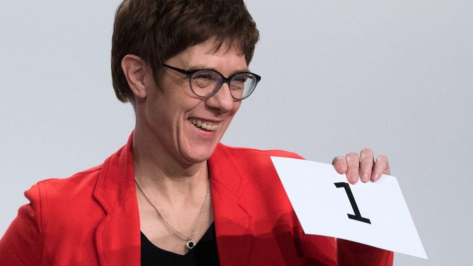 Annegret Kramp-Karrenbauer, CDU-Generalsekretärin
