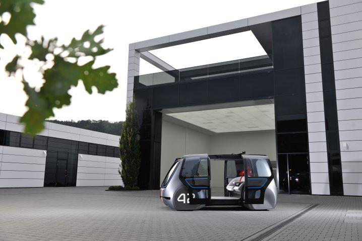 VW Sedric: Prototyp eines Robotertaxis von VW