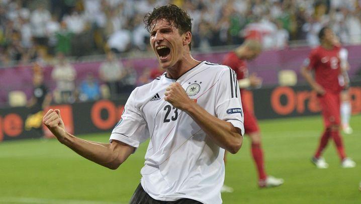 DFB-Stürmer Gomez: Torquote top, ohne Vorlagen ein Flop