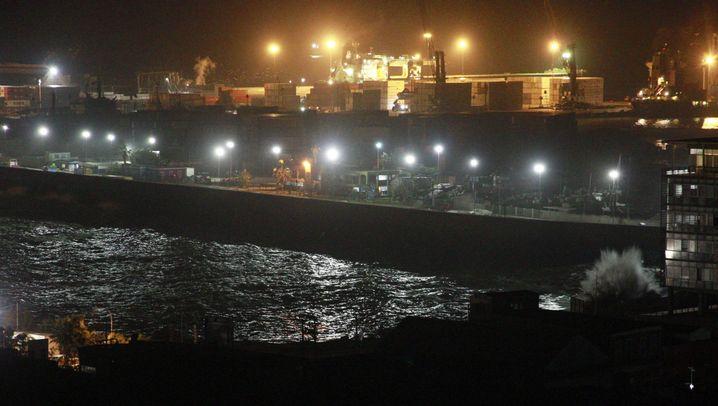 Chile: Tote und Verletzte nach Seebeben