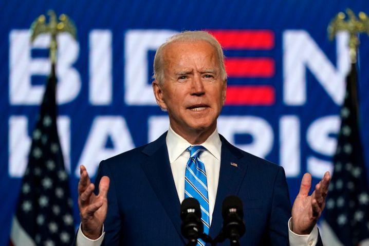 Trump-Herausforderer Joe Biden