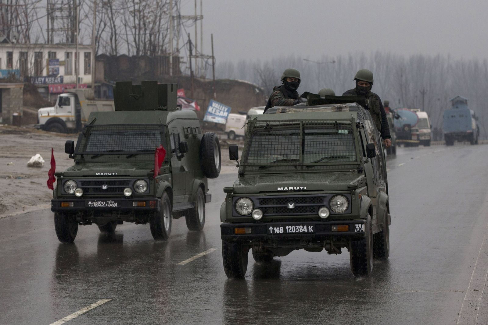 Anschlag auf Sicherheitskräfte in Kaschmir