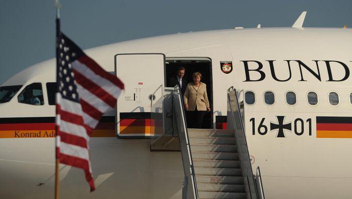 Staatsbesuch in Washington: Merkel bei Obama