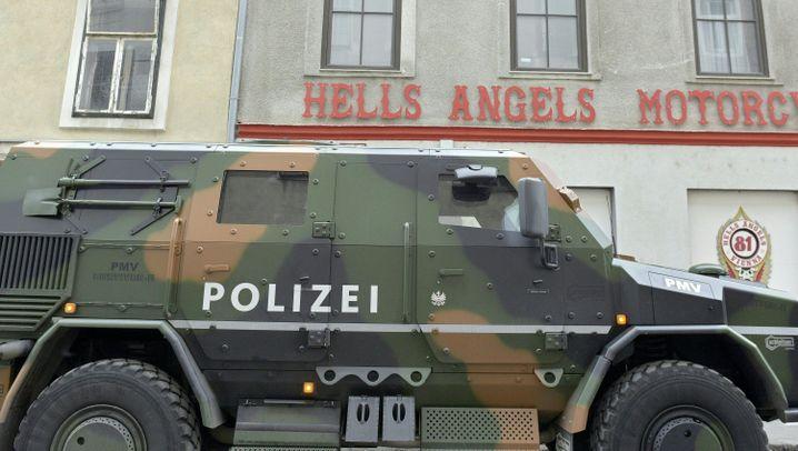 Festnahme von Leipziger Hells Angel: Zugriff in Wien
