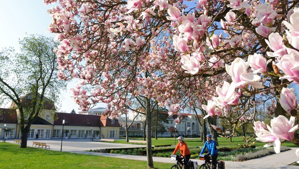 Strampelglück in Deutschland: Frühlingszeit, Radtourenzeit