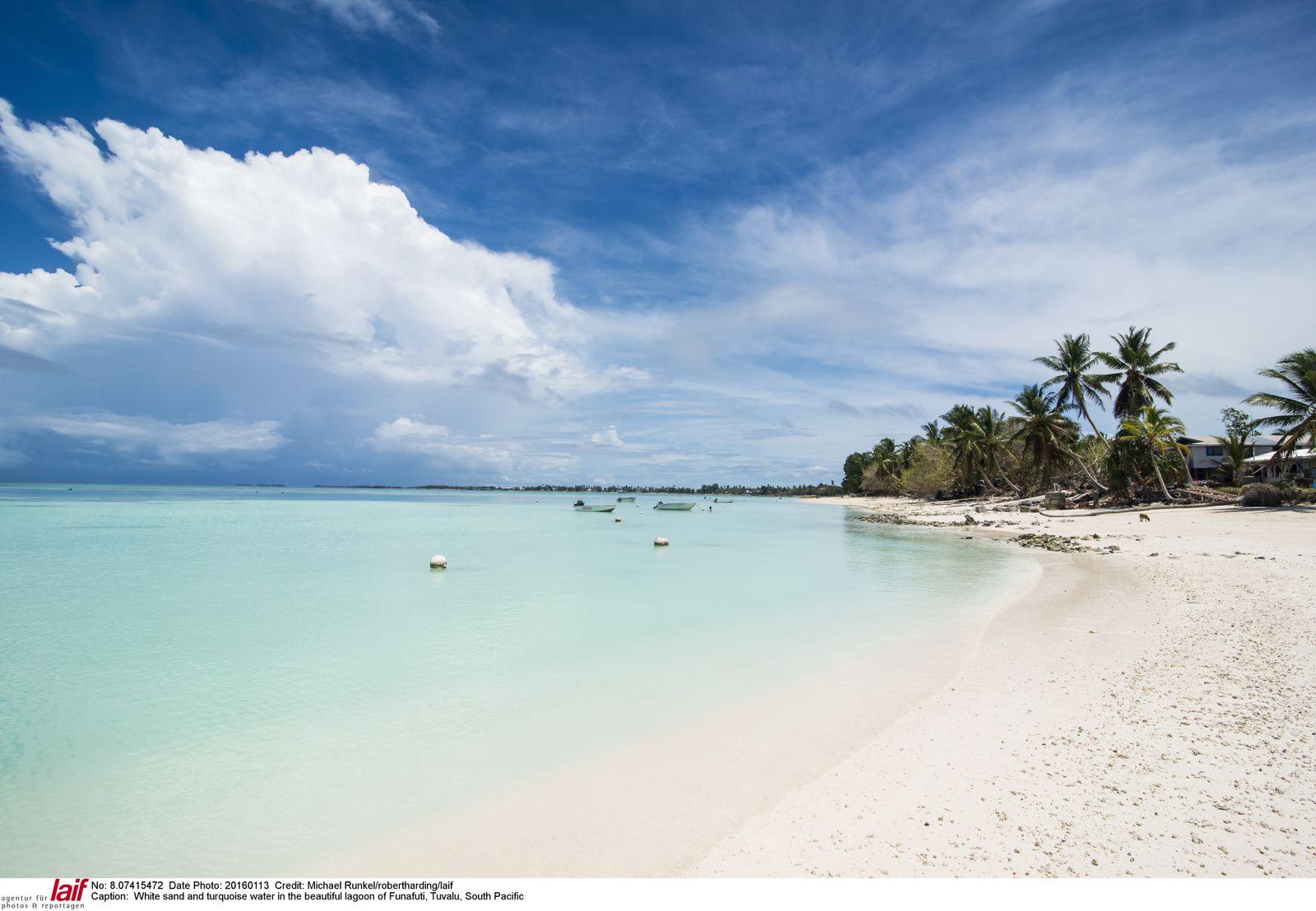 EINMALIGE VERWENDUNG SPIEGEL Plus SPIEGEL 8/2018 S.115 Tuvalu ATARTBILD