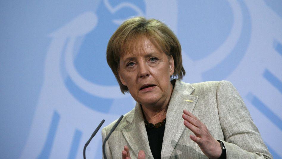 """Kanzlerin Merkel: """"Das muss man nicht gleich so interpretieren"""""""